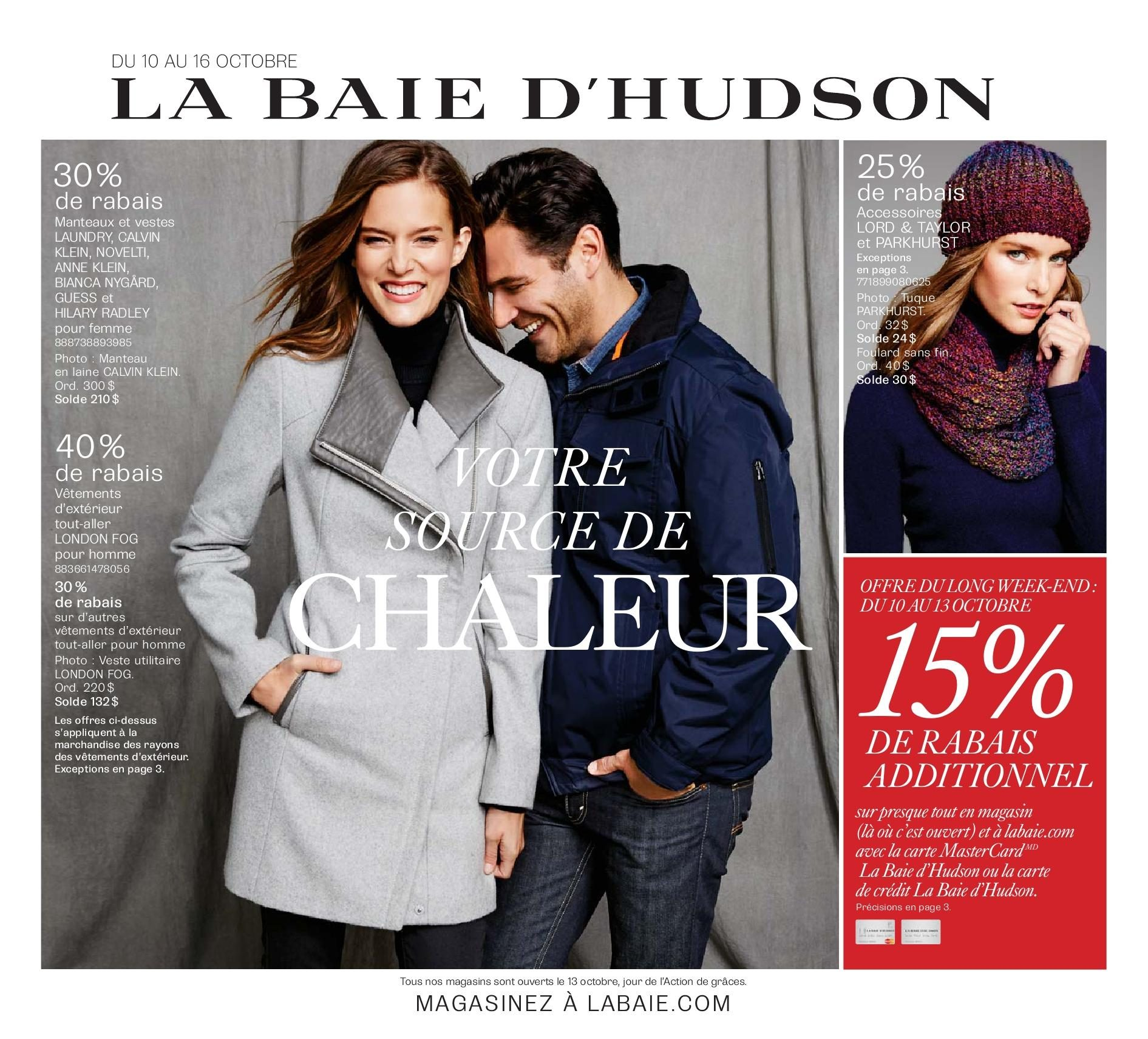 The Bay Weekly Flyer - Votre Soure de Chaleur (FR) - Oct 10 – 16 -  RedFlagDeals.com ffab59e30d8