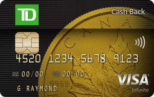 TD® Cash Back Visa Infinite* Card