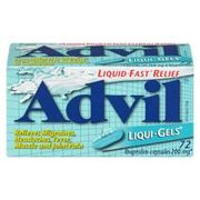 Advil 200-400 mg, Liqui-Gels, Caplets, 12 Hour Or Cold & Sinus  - $9.98 (Up to $3.50  off)