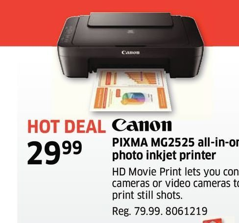 The Source Canon Pixma Mg2525 All In One Photo Inkjet Printer