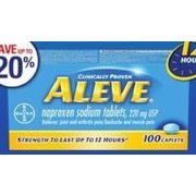 Aleve Pain Relief - Up to 20% off