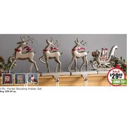 KSP 'Sleigh' Mantle Stocking Holders - Set of 4 - $29.99 (25% off)