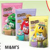 M&M's Milk Chocolate, Peanut Butter Speckled Eggs or Peanut Spring Pastels - $4.49