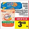 Christie Cookie Family Size or Pepperidge Farm Organic Goldfish Crackers - $3.48 (Up to 0.90 off)