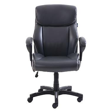 ee5b52cc1a1 Staples Serta Evan Leather Chair With Massage - $169.98 ($30.00 off) Serta  Evan Leather Chair With Massage