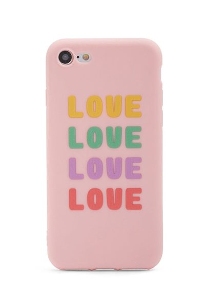 brand new f9252 ad308 Forever21: Love Phone Case For Iphone 7/8 - RedFlagDeals.com