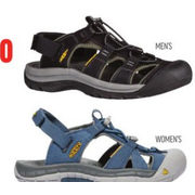 Keen Men's Rapids Or Women's Ravine Sandal - $89.98 ($30.00 off)