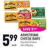 Armstrong Cheese Bars - $5.99 ($1.00 off)