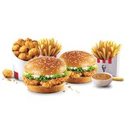 KFC: Get Two Double Tender Sandwich Meals for $9 99 with Online