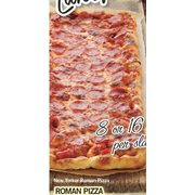 Roman Pizza - Starting at $25.99