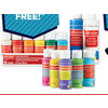 Craft Smart Red & Black Label Paint - Buy 3, Get 1 Free