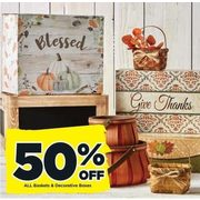 All Baskets & Decorative Boxes - 50% off