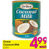 Grace Coconut Milk - $4.99