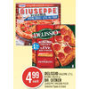 Delissio Calzone Rising Crust Or Dr. Oetker Giuseppe Pizza  - $4.99