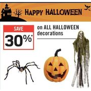 All Halloween Decorations  - 30% off