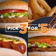 Harvey's: Get Three Menu Items for $5.00 Until January 26