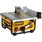 Dewalt Compact Jobsite Table Saw With Site-pro Modular Guarding System, 10-in - $399.99 ($130.00 Off)