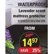 Lavender Scent Mattress Protector - From $14.97 (25% off)