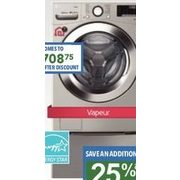 LG 5.2 Cu. Ft. Washer - $945.00