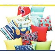 "All Style Selection 16"" X 16"" Outdoor Toss Pillows - $11.99 (40% off)"