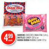 Hawkins Cheezies Snak-pak, Skittles Candy Or Hubba Bubba Bubble Gum  - $4.99