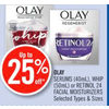 Olay Serums, Whip Or Retinol 24 Facial Moisturizers - Up to 25% off