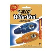 BIC Wite-Out Micro Correction, Tape, 2 Pk - $4.39 (25% off)