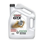 Castrol GTX Conventional Motor Oil - $16.99 (50% off)