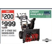 "Briggs & Stratton 24"" 2-Stage Gas Snowblower - $999.00 ($200.00 off)"
