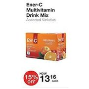 Ener-C Multivitamin Drink Mix - $13.16 (15% off)