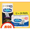 Royale Bathroom Tissue - $4.99