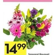 Seasonal Bouquet - $14.99
