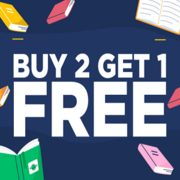 Book Outlet: Buy 2 Books, Get 1 Free